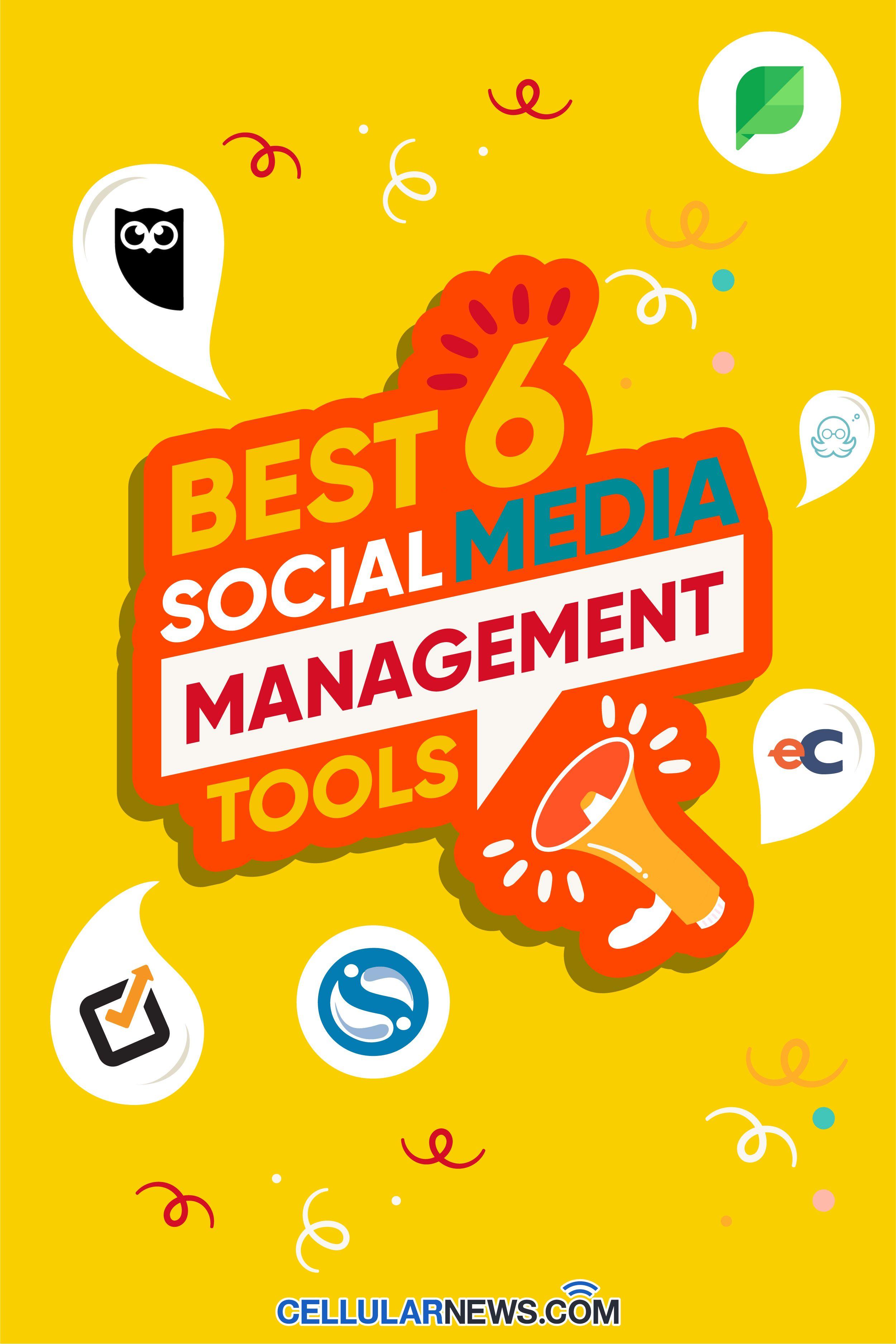 Best 6 Social Media Management Tools In 2021 Social Media Management Tools Social Media Manager Social Media Apps