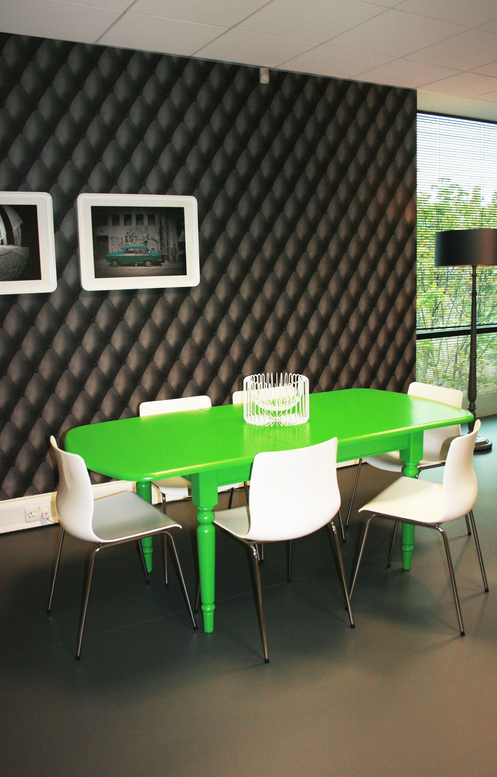 Office Fit Out Upcycle Meeting Table Vibrant