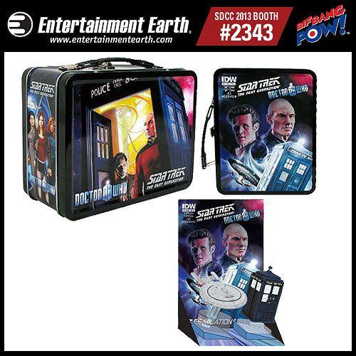 Doctor Who / Star Trek The Next Generation Monitor Mates Tin Tote