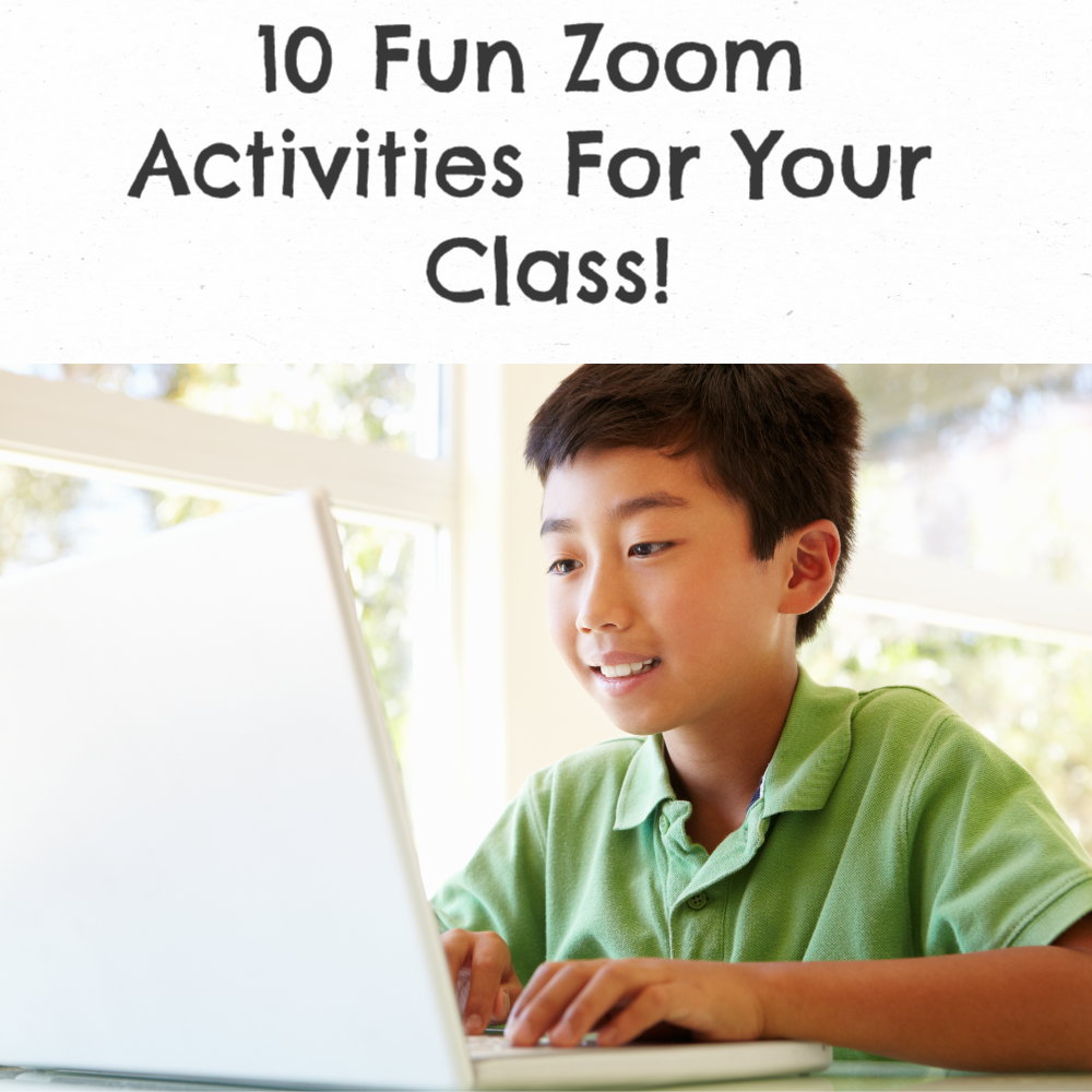 Easy and Fun Zoom Activities! in 2020 First grade