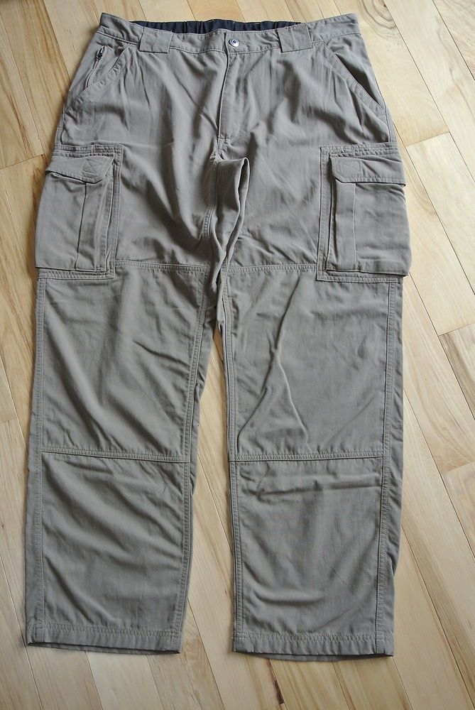 397d41d63b Duluth Trading Tan Cargo Pants Men's Size XL x 32 Dry On The Fly Nylon  #DuluthTrading #Cargo