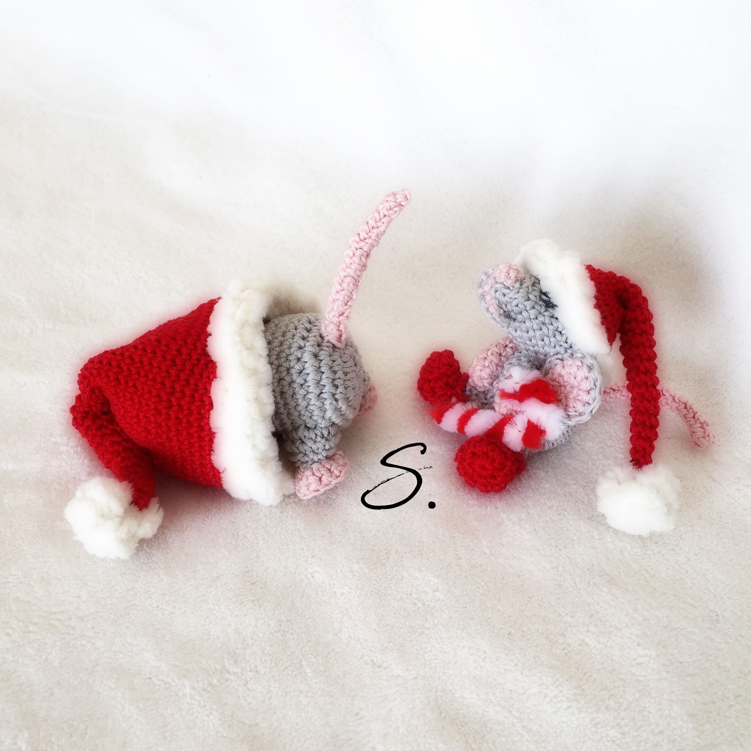 Mr. Jingles e Gas christmas amigurumi mouse crochet free pattern by ...