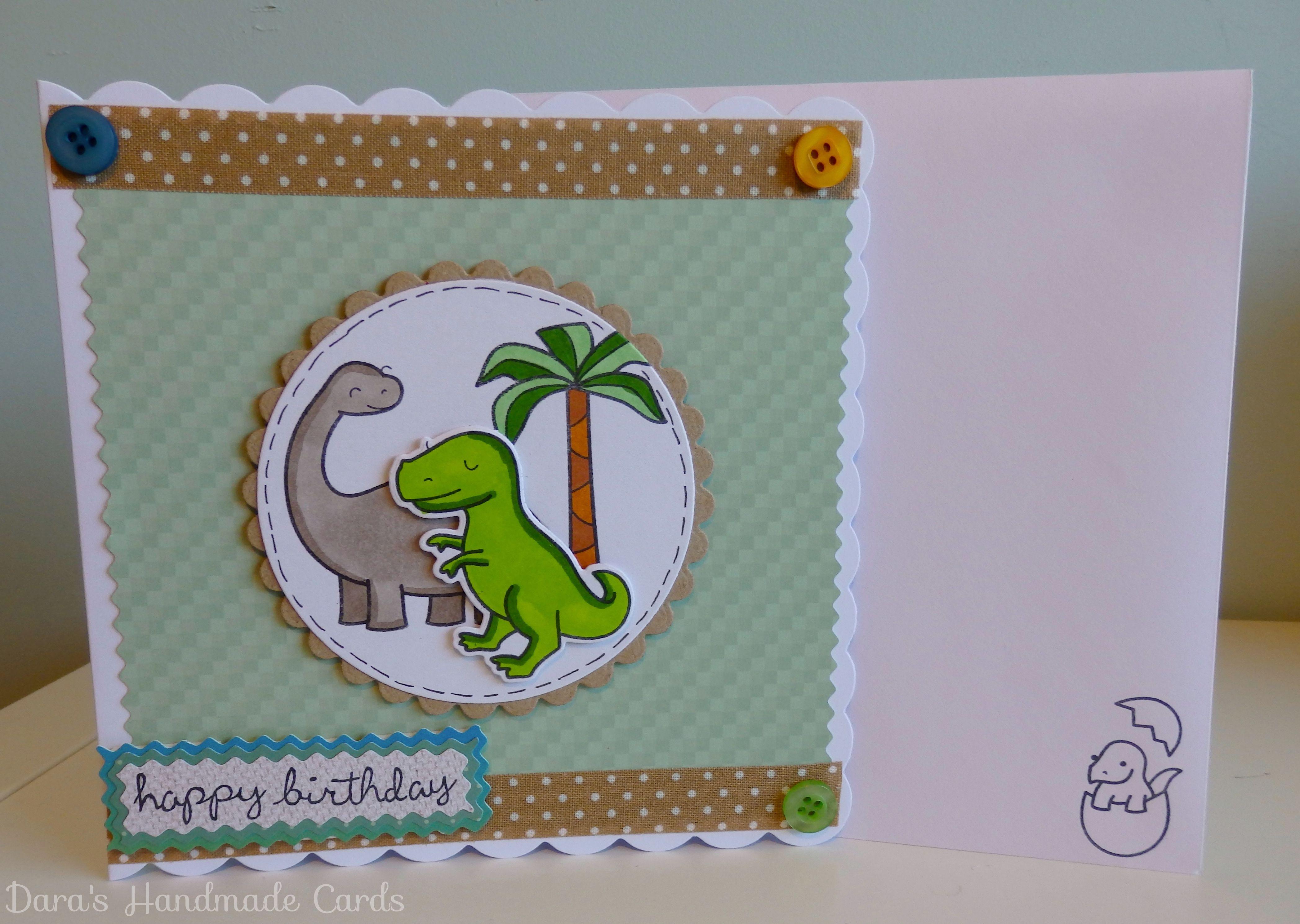 Handmade Dinosaur Card Kids Boys Girls Birthday Etsy Cards Dinosaur Cards Kids Cards