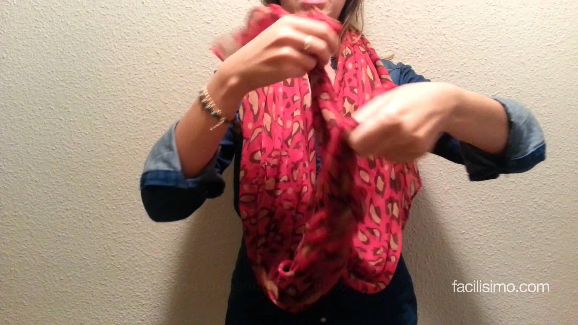 3 maneras de ponernos un pañuelo al cuello (II)   facilisimo.com