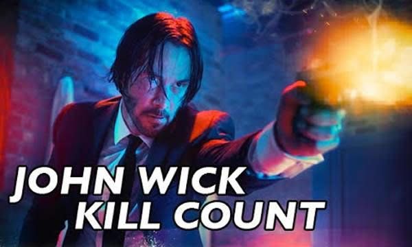 chart of every death in john wick gag also pinterest rh