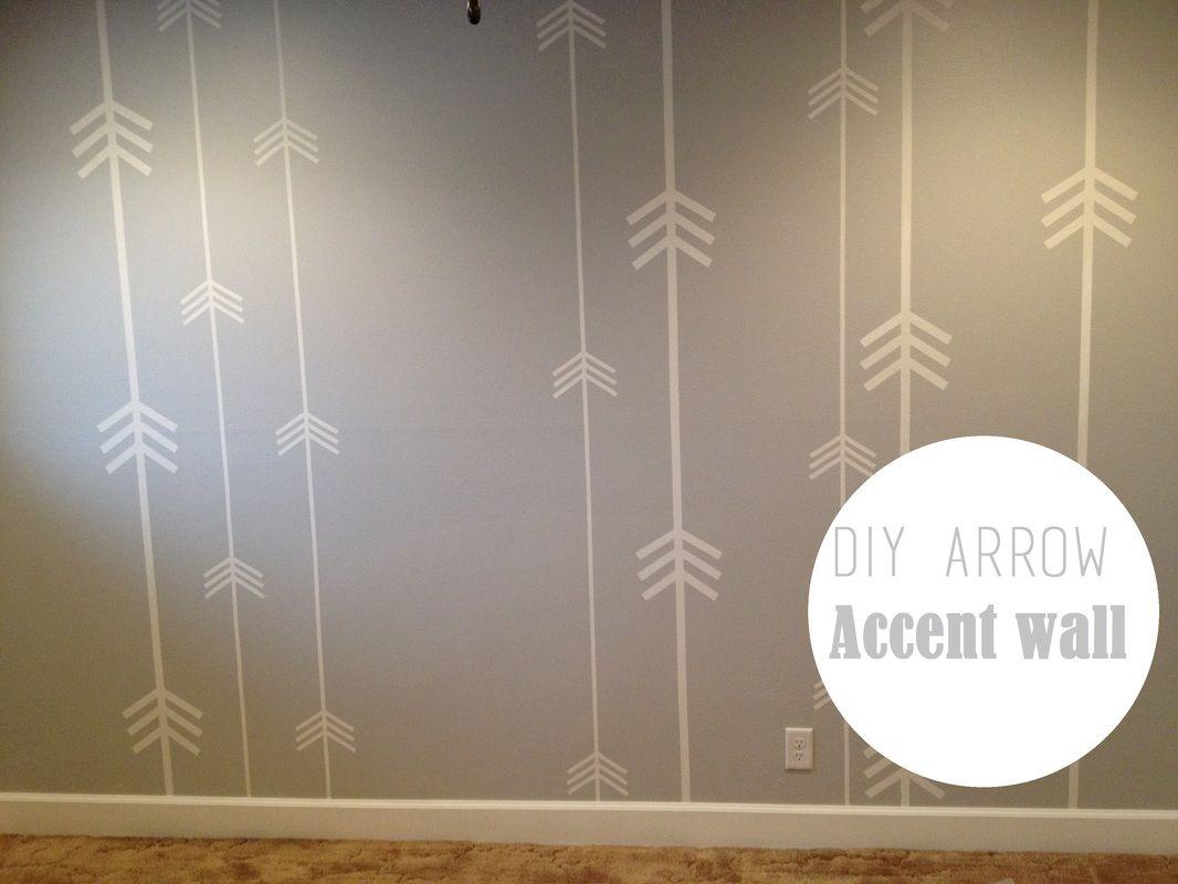 Diy Arrow Accent Wall For Nursery Boy Room Accent Wall Nursery