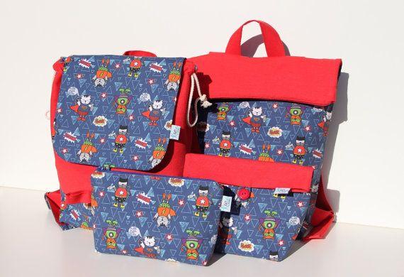 Mochila infantil de gatitos mochila colegio mochilas