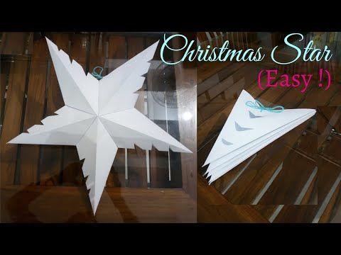 Folding a 5 Pointed Origami Star - YouTube   Origami stern falten ...   360x480