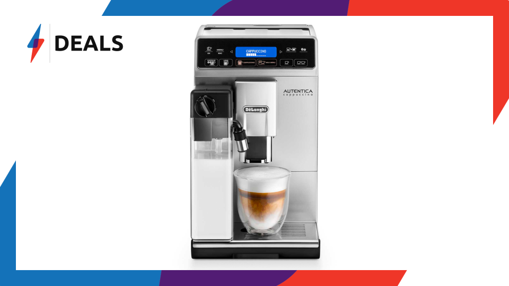 Beat the winter cold with £110 off this De'Longhi Coffee