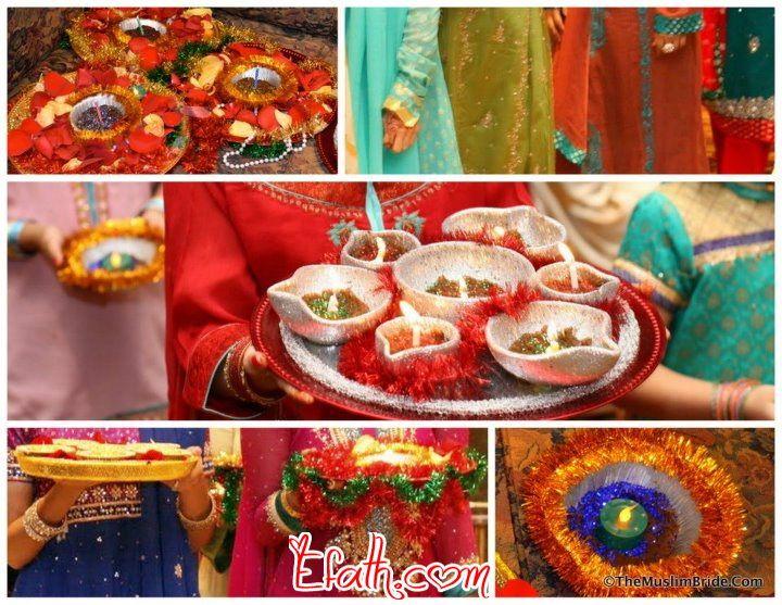 Mehndi Event Planner : Colorful mehndi arrangement ideas wedding efath