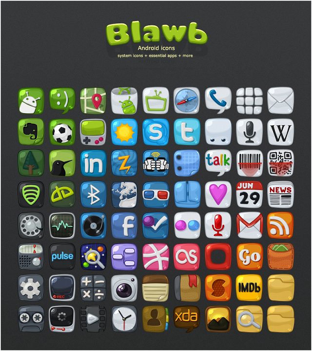 dwnldable android icons craft tech stuff android