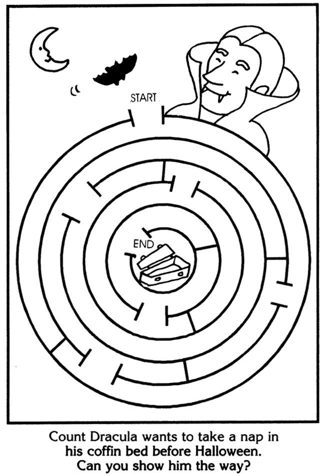 image about Halloween Mazes Printable identify Halloween MAZES As a result of: Suzanne Ross Dover Guides #1