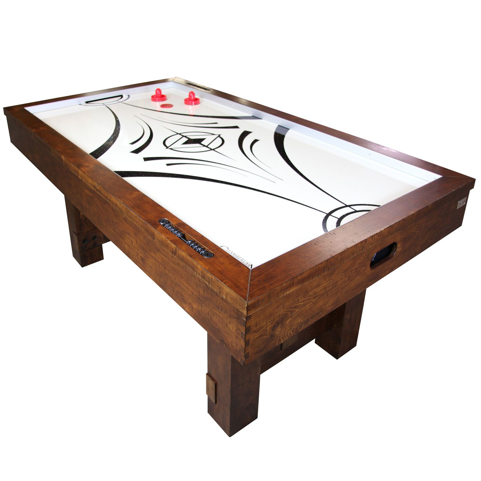 Nashville Nights Distressed Wood Air Hockey Table How to