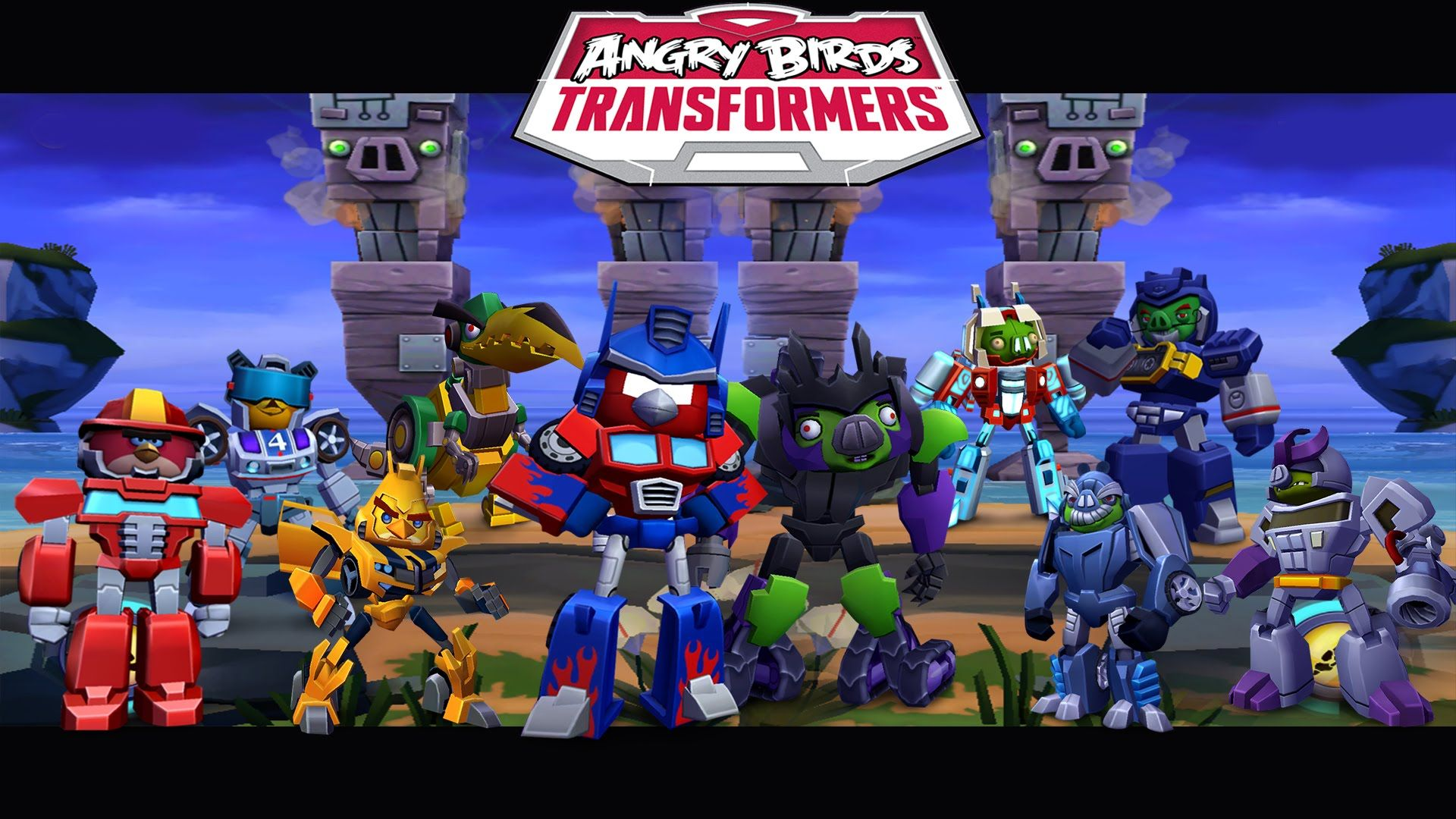 Angry Birds Transformers Version 1 34 2 For Android Angry Birds