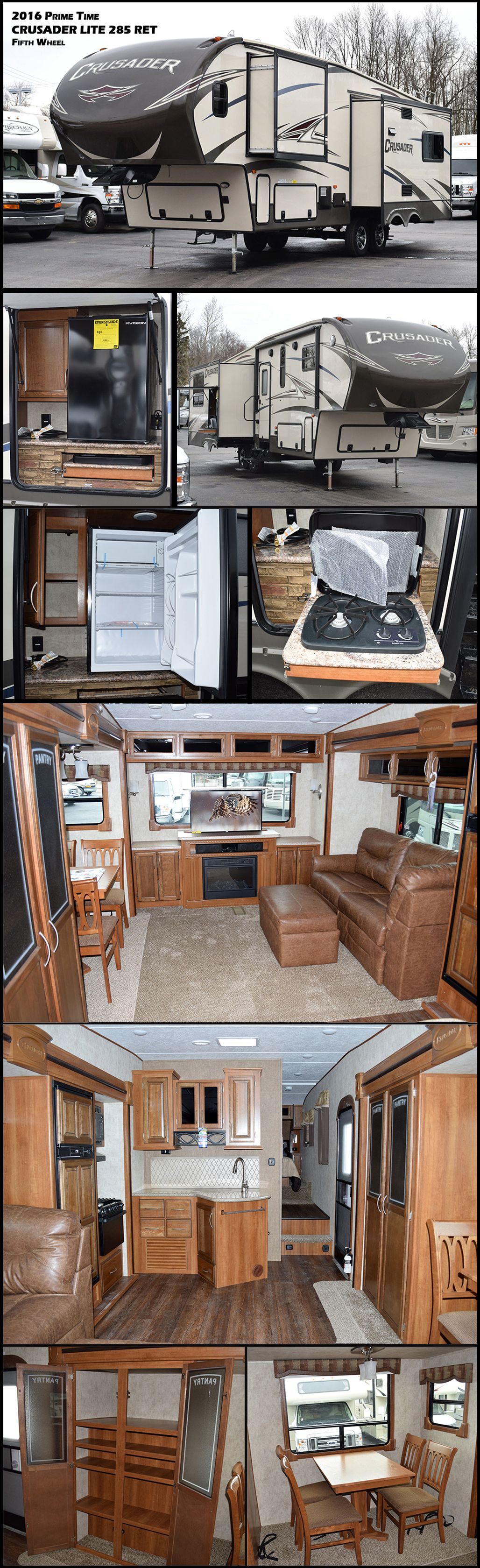 the 2016 prime time crusader lite 285ret fifth wheel offers triple