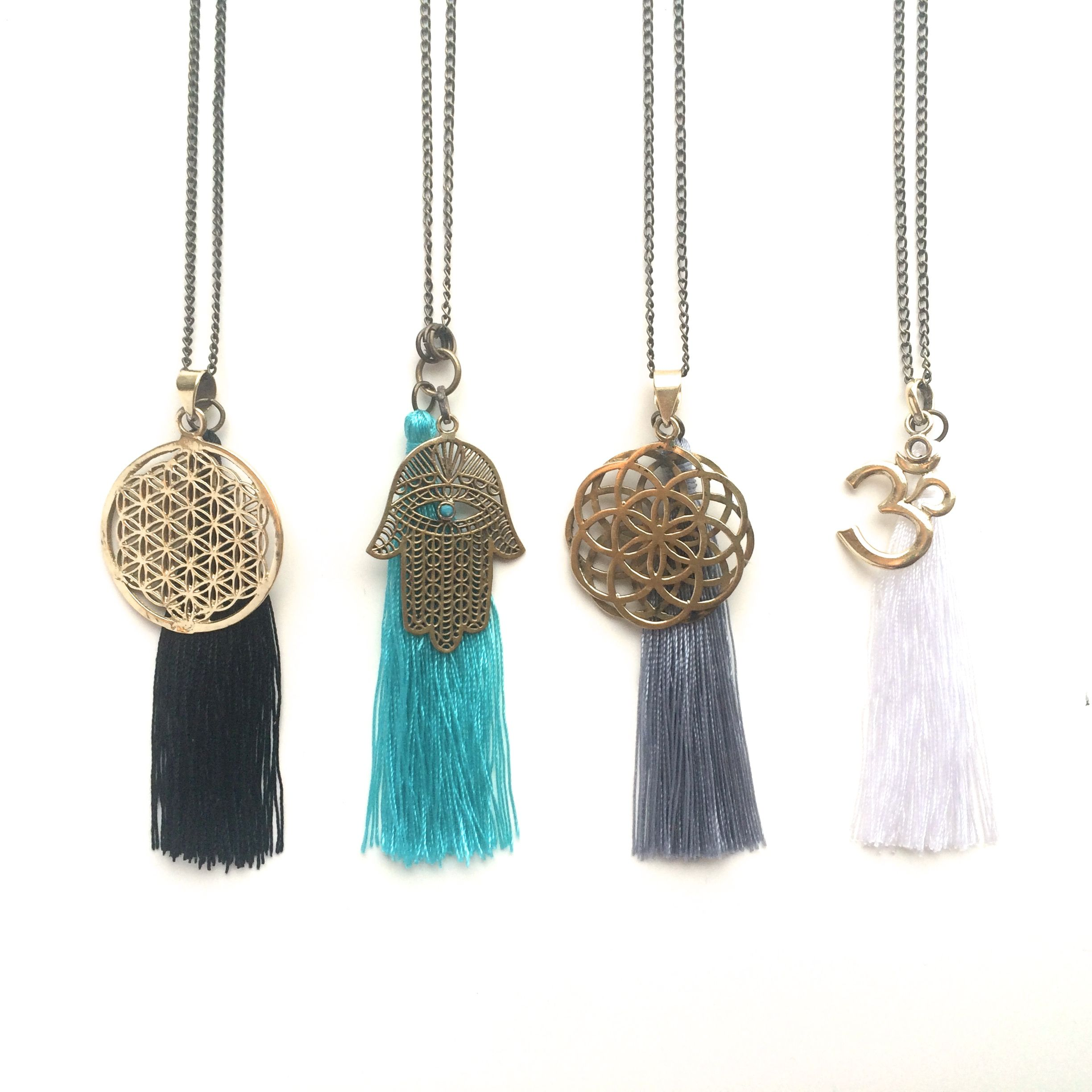 Collaboration Necklaces by Sweet Harriet Designs & Gypsalove Collaboration is the new competition