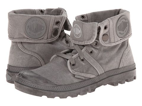 Palladium Pallabrouse Baggy (Titanium/High-Rise) Women's Boots