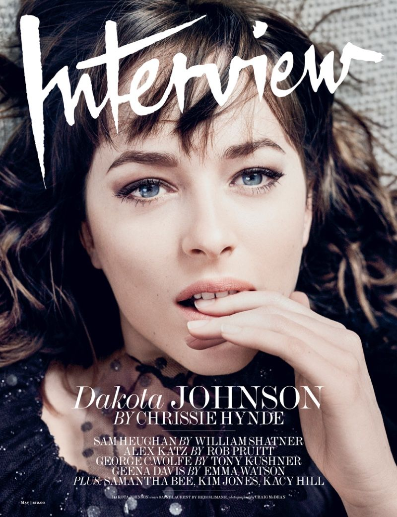 dakota johnson goes sultry for interview cover story photos dakota johnson pose on interview magazine 2016 cover