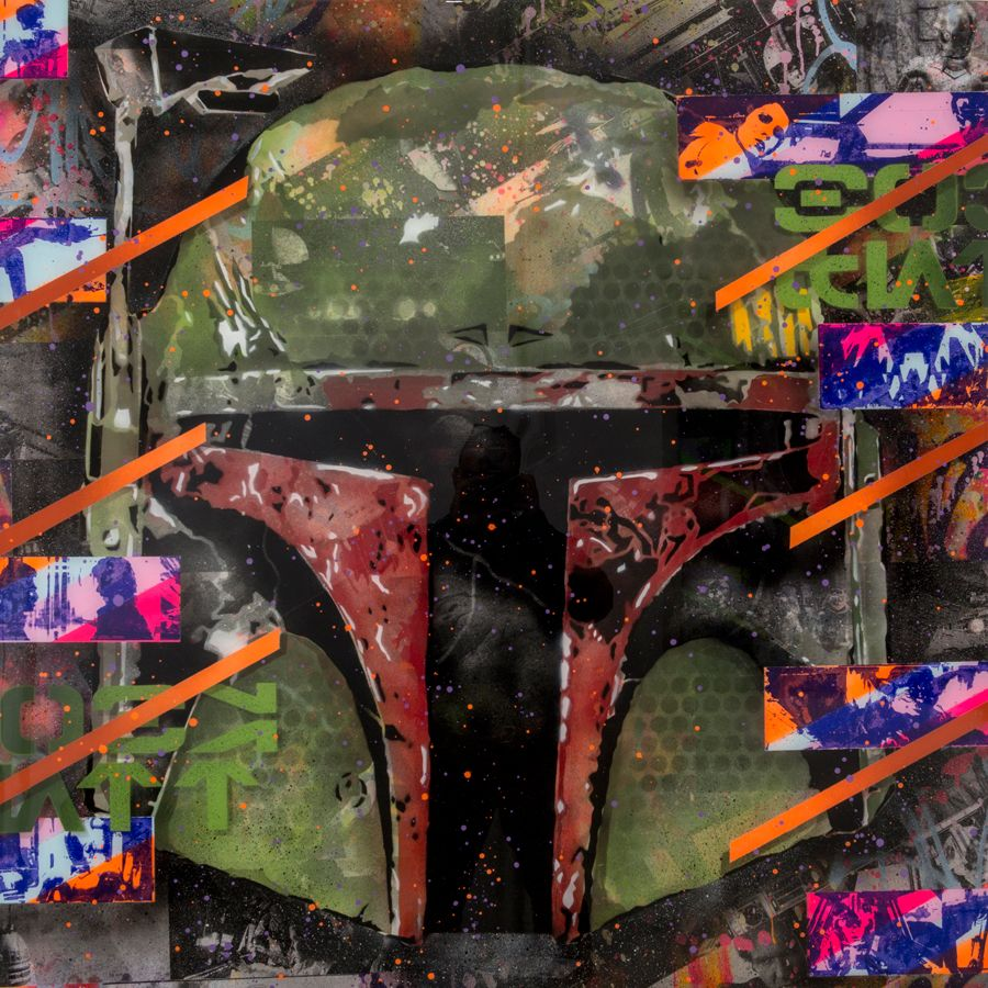 Grafitti fine art 2015 - Rene Gagnon Fine Art New York Los Angeles Rene Gagnon Star Wars