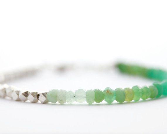 bliss blog - i heartmonday: green ombre bracelet by filoe