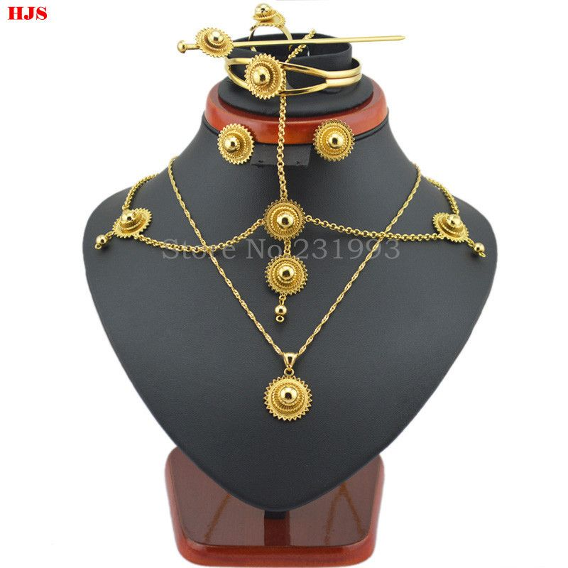 Traditional-Ethiopian-6pcs-jewelry-sets-22K-Gold-Filled