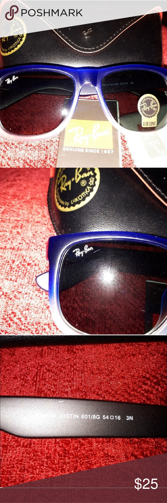 Ombre Blue Ray ban like Upfront. Not everyone can afford ...