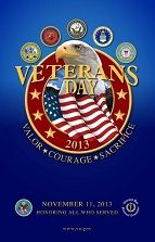 Veterans Day Poster Info on VFW for the classroom! #veteransdayhonoring
