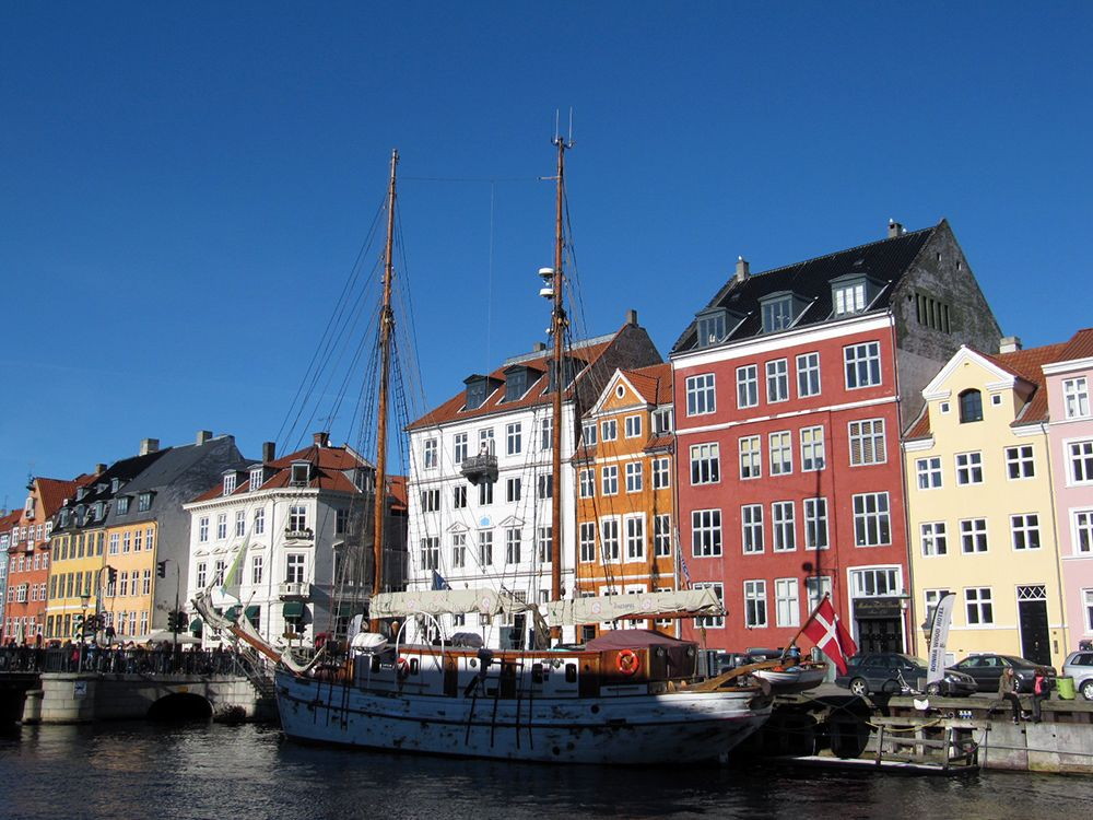 Copenhagen Denmark, Canal, Copenhagen