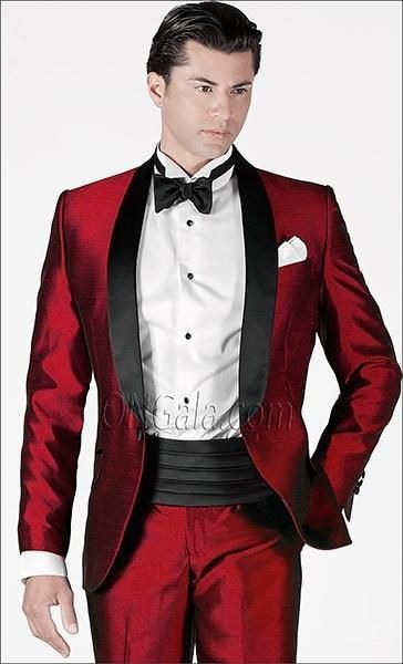 Maroon Slim Fit Suit for Prom | Prom Tuxes | Pinterest | Shops ...