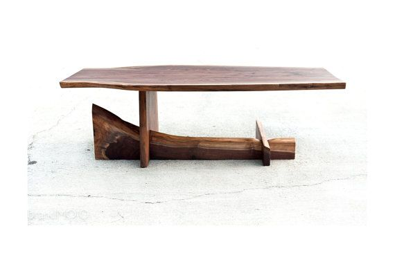 Looking forward to my spin on this idea...  Live Edge Walnut Cantilever Table…