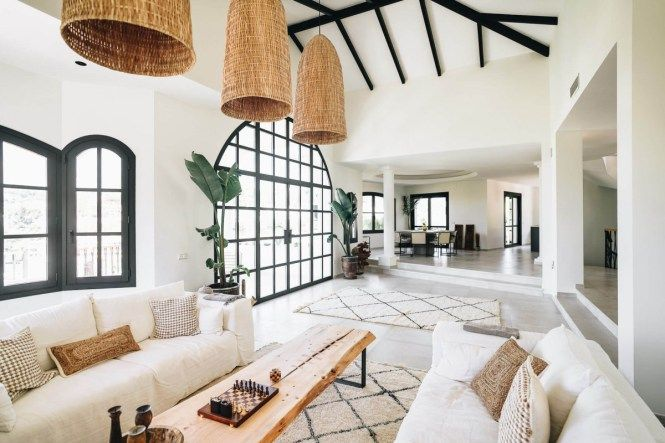 Photo of Before / after – from traditional Spanish villa to a Nordic – ethnic style dream | delikatissen