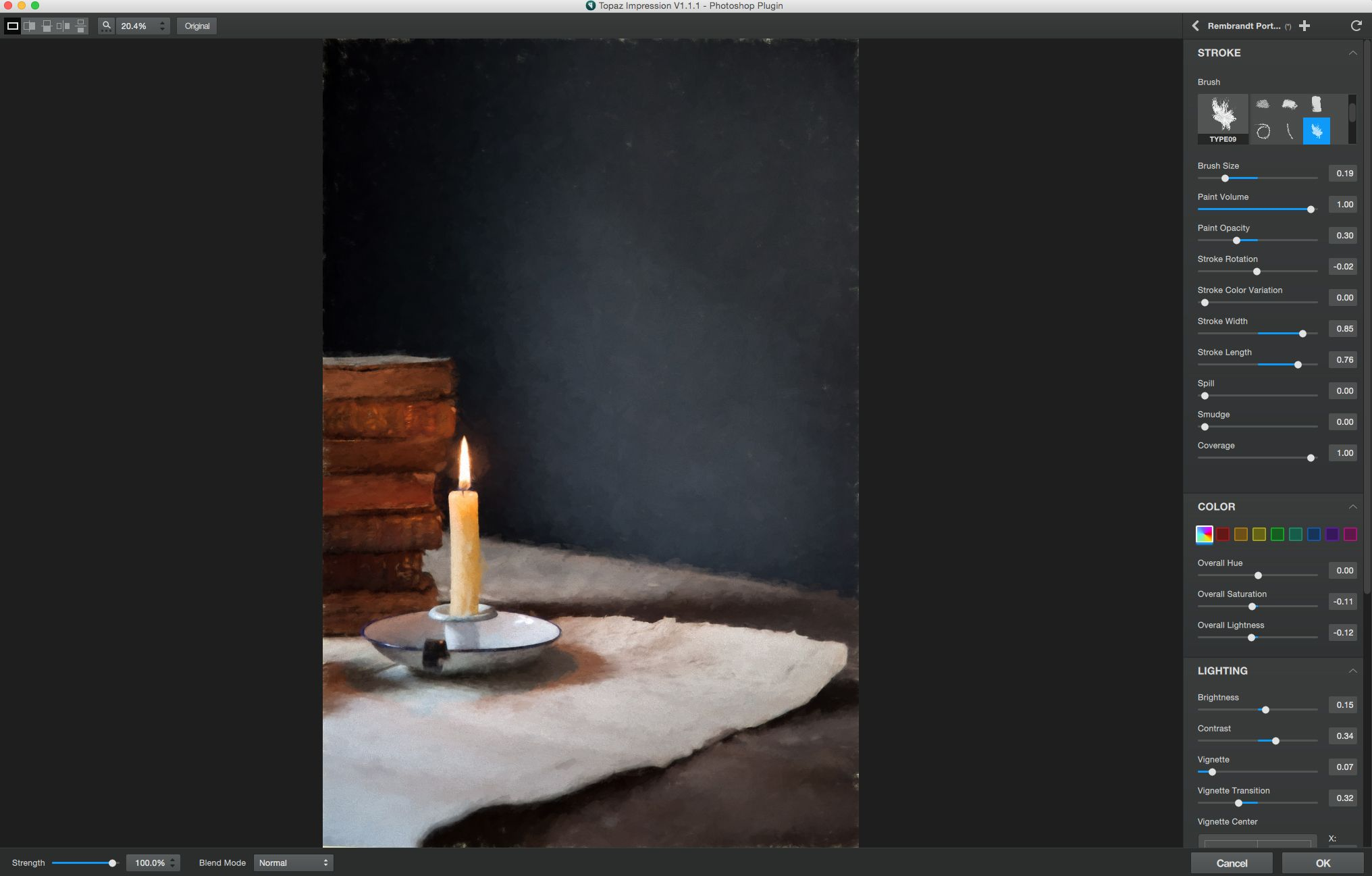Using Textures with Topaz Impression Free textures
