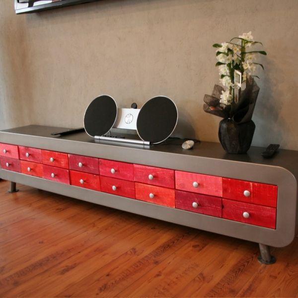Banc console Consoles and Buffet - meuble de rangement avec tiroir