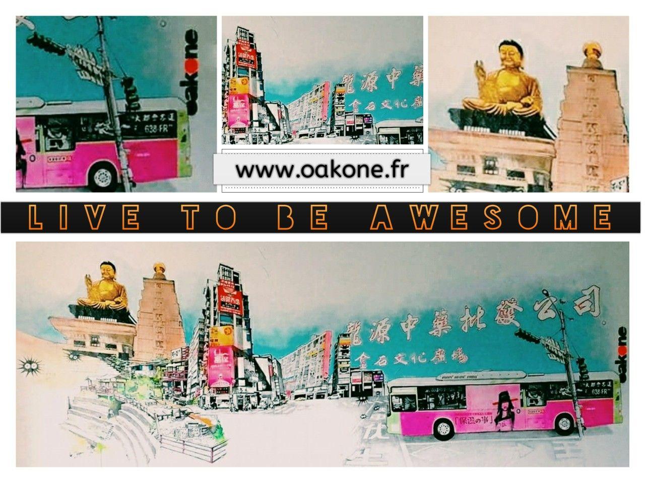 #OakOne #streetart #streetartist #fresquemurale #particulier #asian #Bouddha #temple #tourisme #voyage #evasion #awesome #heart