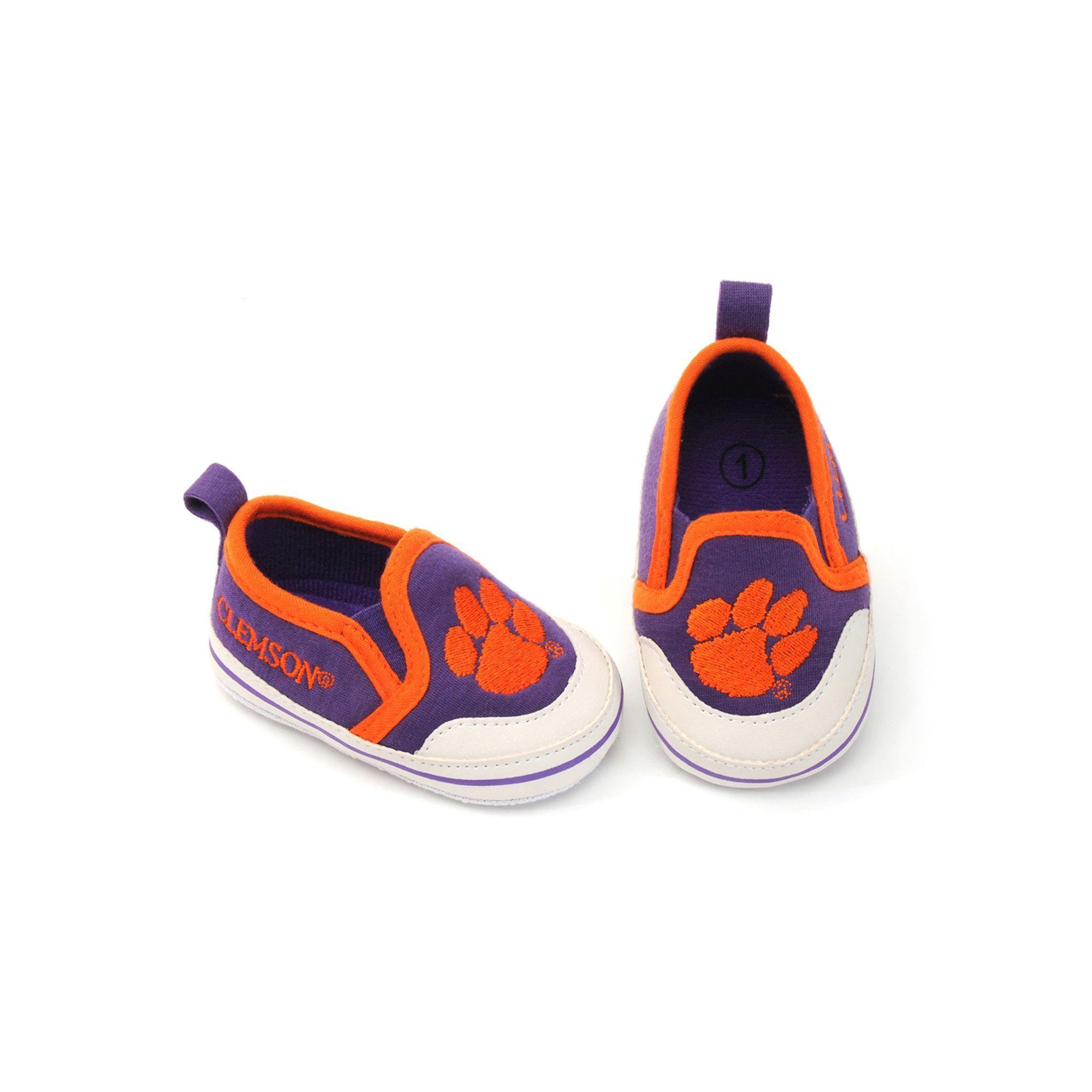 Baby Clemson Tigers Crib Shoes Infant Uni Size 0 3 Months