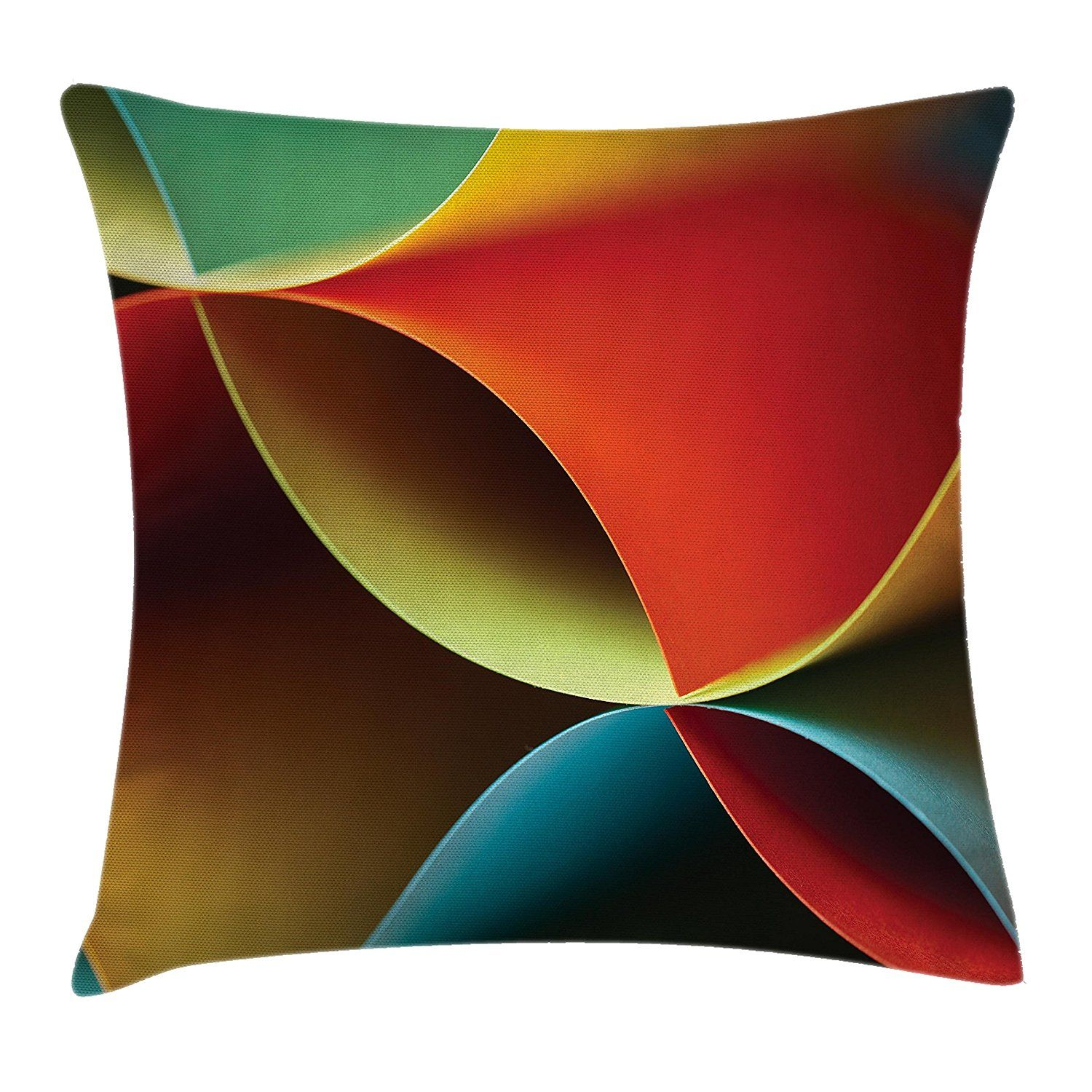 Abstract decor throw pillow cushion cover by ambesonne graphic