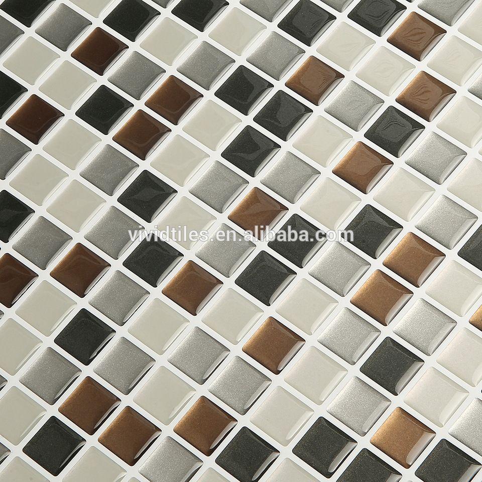 Kitchen Designs Ideas With Peel-N-Stick Backsplash Tile Mosaic ...
