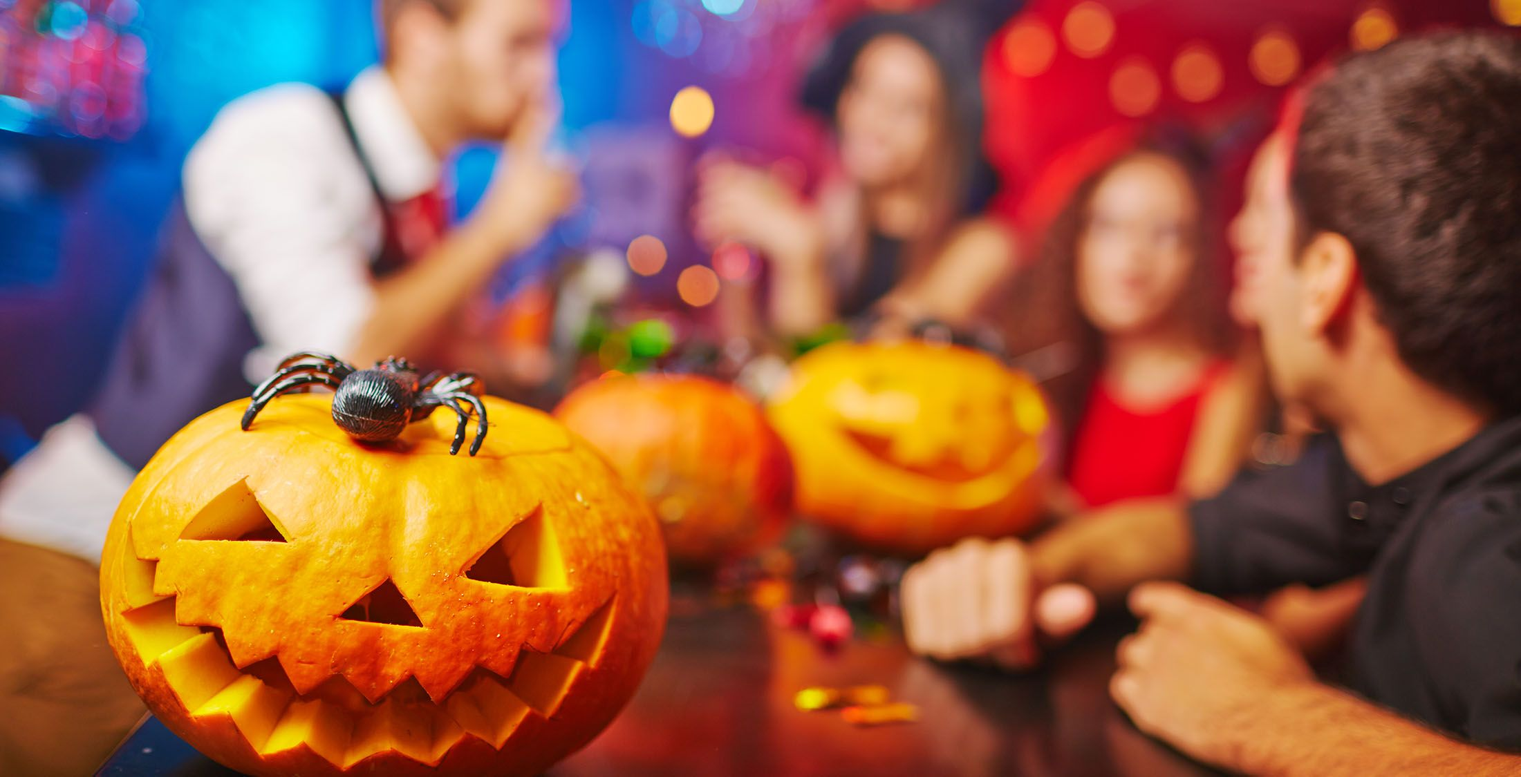 Follow these tips to throw a Halloween party — without breaking your budget .