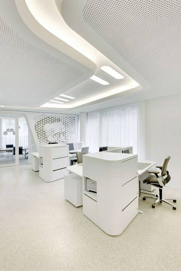 bank and office interiors. Open Launge NAU Freshome 06 An Original Bank Design: Raiffeisen Office In Zurich By And Interiors F