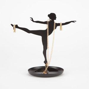 KIKKERLAND Ballerina Jewelry Stand #Tillys #Kikkerland #ballerina #jewelry #jewelrystand