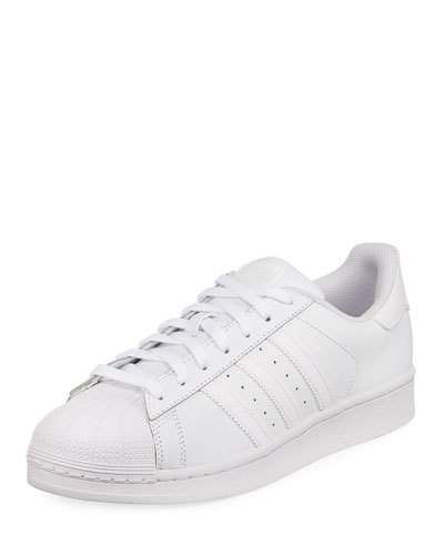 low priced 59f86 73eb6 Adidas Men s Superstar Foundation Leather Sneaker