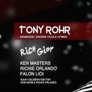 Tony Rohr,  RICH GIOR w/ Ken Masters,  RICHIE ORLANDO,  FALON LIOI @ SRB APR. 5 at SRB in Brooklyn,  NY