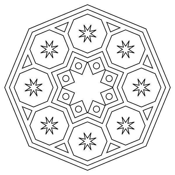 Mandala para imprimir 12 - La Guía de Mandalas | Mandalas ...