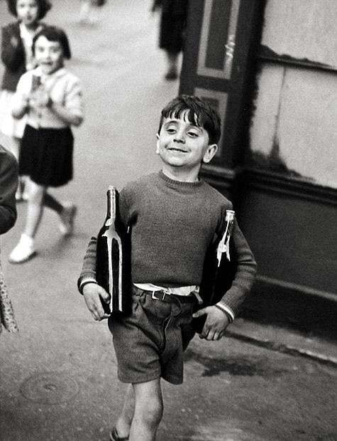 Step into henri cartier bressons lively black and white world