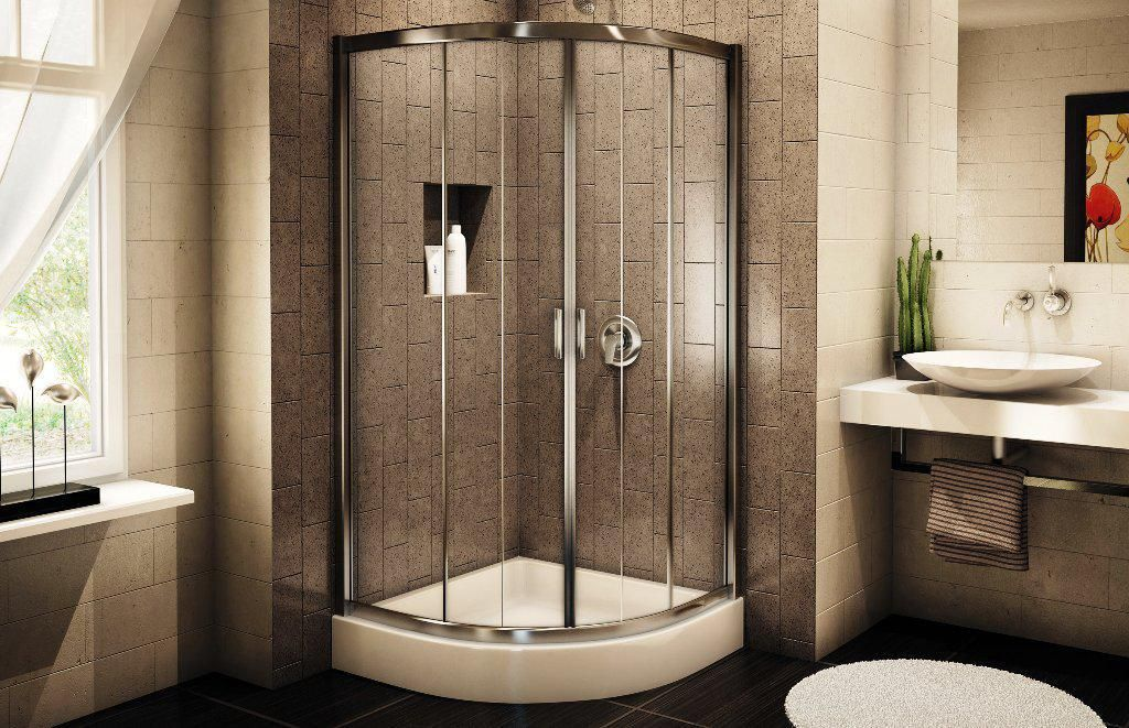 small walk in shower size - Google Search | Lavern\'s House Project ...