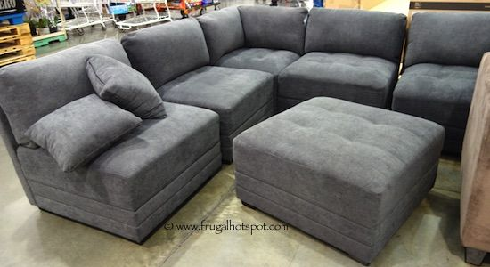 The pieces can be arranged in multiple configurations to suit your taste. Costco has the Modular Fabric Sectional in stock for a limited time. : sectional sofas costco - Sectionals, Sofas & Couches