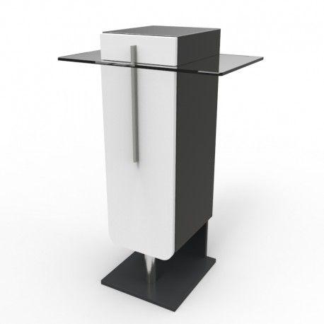 meuble machine caf bois driftwood pour expresso. Black Bedroom Furniture Sets. Home Design Ideas