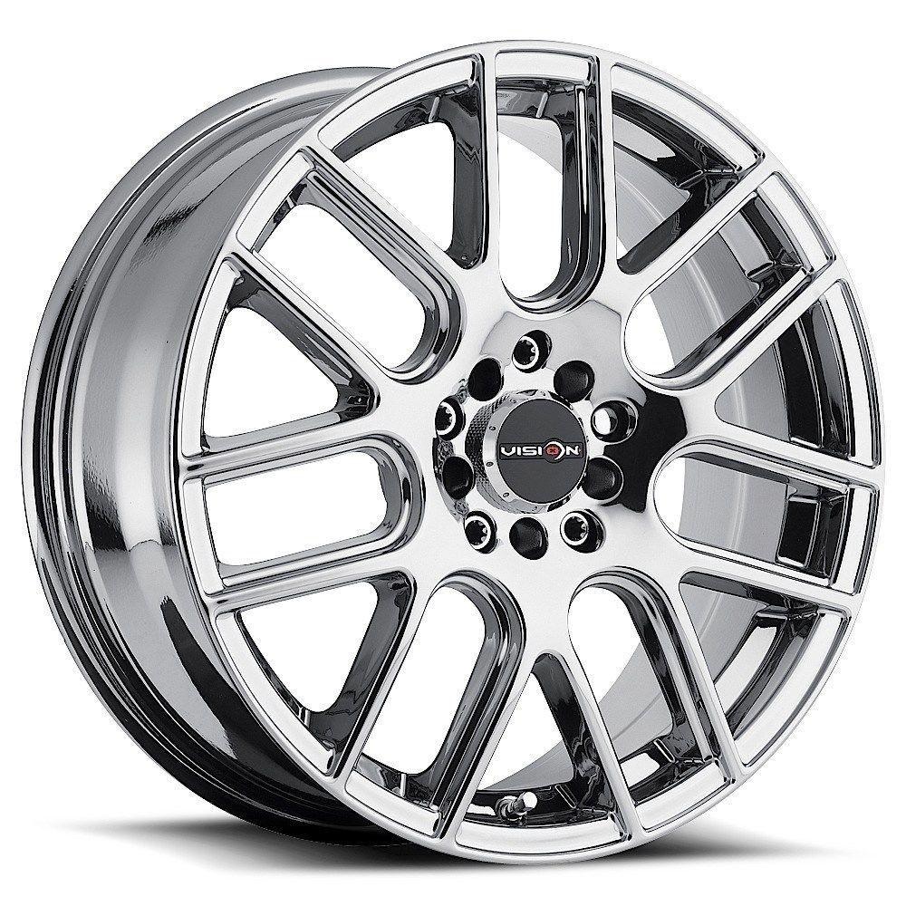 5 lug 5x100 5x1143 5x45 16x7 phantom chrome pvd wheels