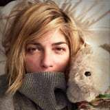 Selma Blair Opens Up About the Difficulties of Living With MS in Emotional Instagram Post  Selma Blair shared an emotional look at what its really like to live with multiple sclerosis. On Sunday night the actress posted a photo of herself cuddling a stuffed bear and included a lengthy caption outlining the struggles shes faced because of the disease. There is a truth with neurogedenerative brain disease. It is uncomfortable. It is a stadium of uncontrollable anxiety at times. Going out being sociable holds a heavy price. My brain is on fire she wrote. Selma was diagnosed with MS in October and shes been candid about the fact that its a battle.  The Cruel Intentions star whos mom to 7-year-old Arthur Saint Bleick continued with an optimistic sentiment saying I have a full week ahead with mothering and appointments and things to look forward to. But like many of us I am praying. Soaking in love where I can. Its not easy. Thats OK. Selma included the hashtags #stillanactress and #willmakeitwork.  She also got real about the fact that self-care can be a serious mood booster  for Selma thats her new blond bob haircut. She gave a shout-out to her colorist and said I cant thank you enough for the morale boost of blonde. Read Selmas heartfelt post in full above.