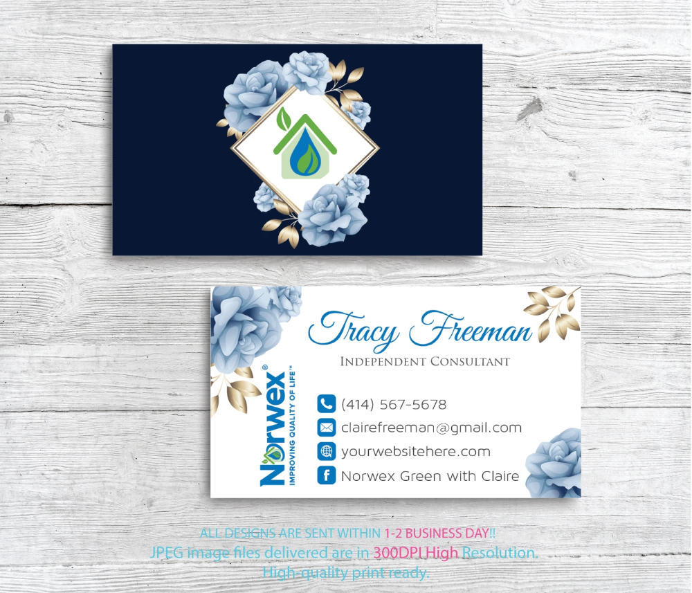 Norwex Business Cards Personalized Norwex Template Nr18 In 2020 Cleaning Business Cards Personal Business Cards Custom Business Cards